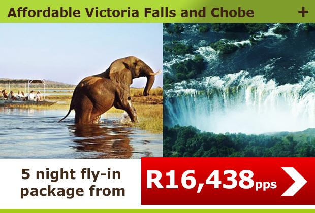 Affordable Victoria Falls And Chobe